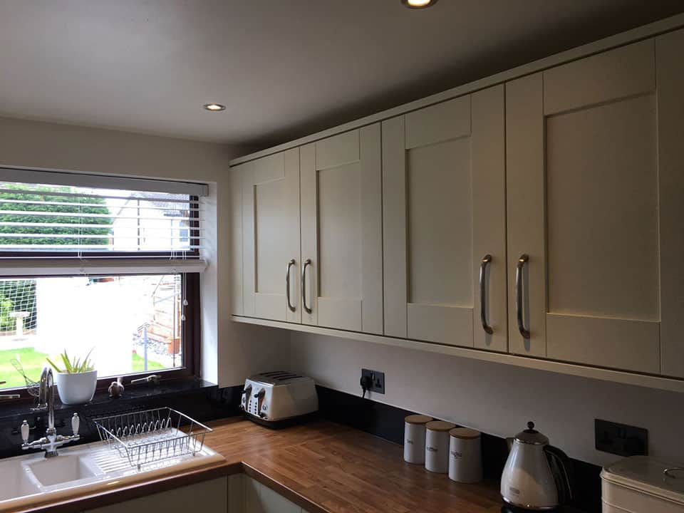 Eye-level fitted kitchen units
