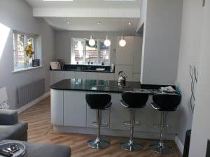 New Fitted Kitchen in Worsley for Mr Chisholm