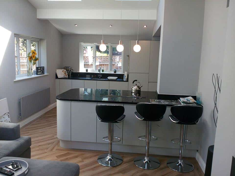 Kitchen designed and fitted in Worsley, Manchester