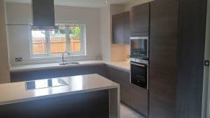 New Fitted Kitchen in Worsley for Mr & Mrs Baxter