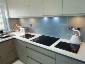 light units fitted kitchen bespoke